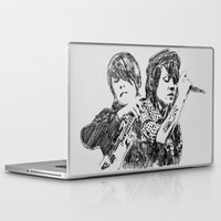 tegan and sara Laptop & iPad Skins featuring Tegan & Sara by sostular