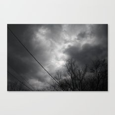 Storms Approaching Canvas Print