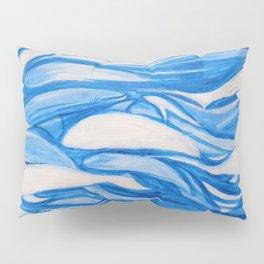 Blue window #8 Pillow Sham