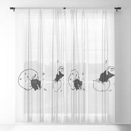Childish Sheer Curtain