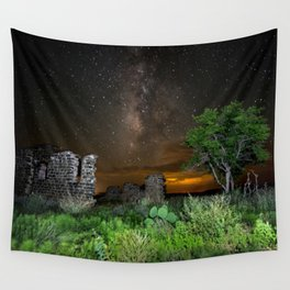 Milky Way over Texas Wall Tapestry