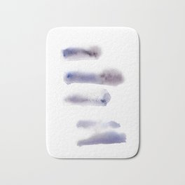 150527 Watercolour Shadows Abstract 143 Bath Mat