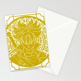 Stained Glass - Dragonball - Mirai Trunk Stationery Cards