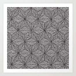 Cuben Wavey 2 Art Print
