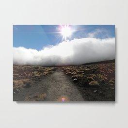 Tongariro Landscape, New Zealand Metal Print