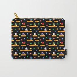 Bubble Bobble Retro Arcade Video Game Pattern Design Carry-All Pouch
