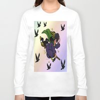 witch Long Sleeve T-shirts featuring Witch by Art-Motiva