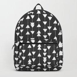 Arrowhead - Black Backpack