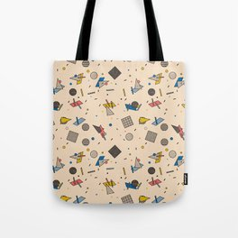Memphis Inspired Pattern 9 Tote Bag