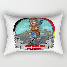 Go Flyers! Rectangular Pillow