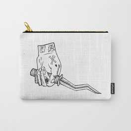 knife hand Carry-All Pouch