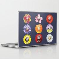 fairies Laptop & iPad Skins featuring Floral Fairies by ColourMoiChic