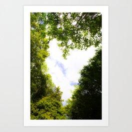 I Heart Trees Art Print