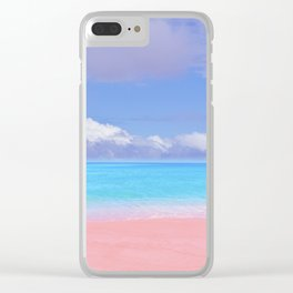 Pastel vibes 59 Clear iPhone Case