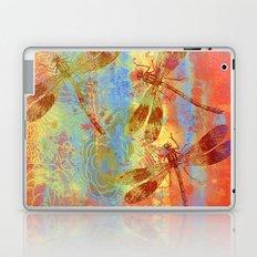A Dragonflies QQW Laptop & iPad Skin