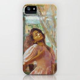 zendaya + olga boznanska iPhone Case