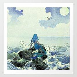 Beauty Mermaid Art Print