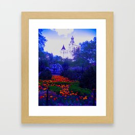 Enchanted Garden Framed Art Print