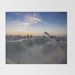 Skateboard Throw Blanket