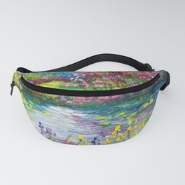 Colorful pond Fanny Pack