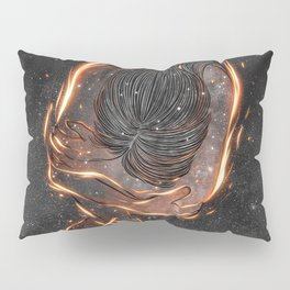 The burning of spirit.  Pillow Sham