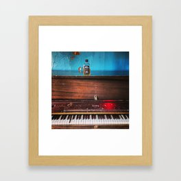 Memphis Blues Framed Art Print