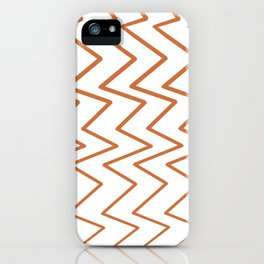 listras zigzag iPhone Case
