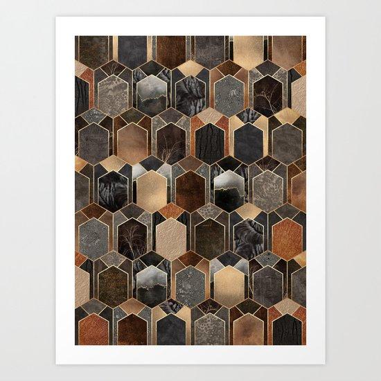 Art Deco Dream 4 Art Print