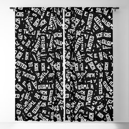Sick & Twisted Blackout Curtain