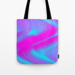 DREAM PATH (Blues, Purples & Fuchsias) Tote Bag