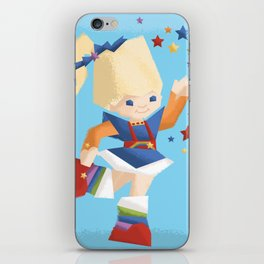 Rainbow Brite iPhone Skin