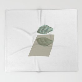 Rock and Reflection Throw Blanket