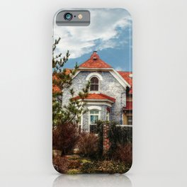 An Interesting House iPhone Case