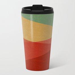 Stripe IX Modern Century Metal Travel Mug