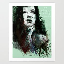 about youth Art Print