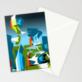 "Madrone Candea - ""Robots From The Sea Take Out The Trash"" Stationery Cards"