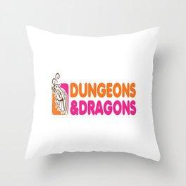 D_D All Nighter Throw Pillow