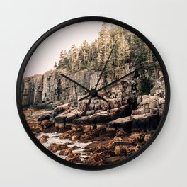 Northern Glow Wall Clock