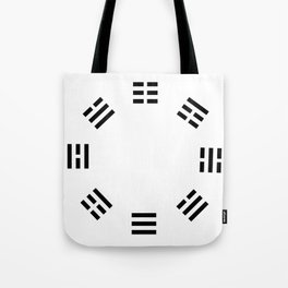 I Ching Clock Tote Bag