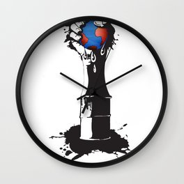 the squeeze Wall Clock