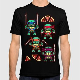 Teenage Mutant Ninja Turtles Pizza Party T-shirt
