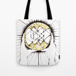 Sun Hands Tote Bag