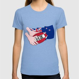 Rugby Ball New Zealand T-shirt