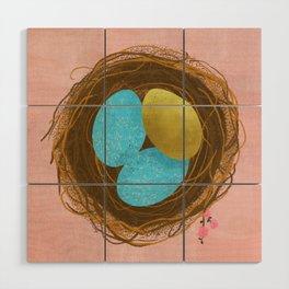 Nest Egg Wood Wall Art