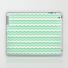 Green Waves Laptop & iPad Skin