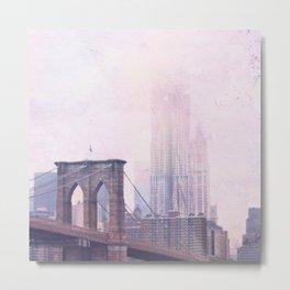 Moody Brooklyn Metal Print