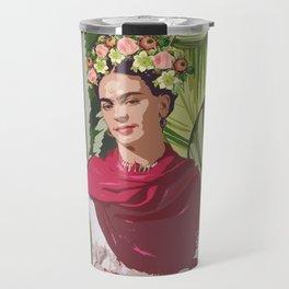 Wild Frida Kahlo Travel Mug