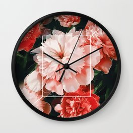 Blossoms Wall Clock