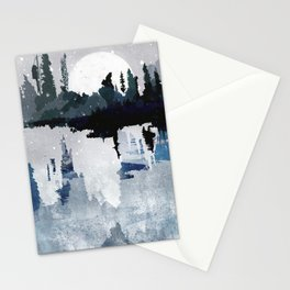 the art of silence II Stationery Cards