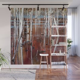 Automn Swamp Wall Mural